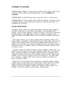 Constelatiile - Pagina 1