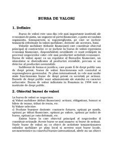 Bursa de Valori - Bucuresti - Pagina 1