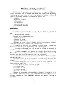 Structura Activitatii Promotionale - Pagina 1