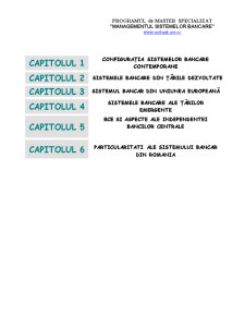 Sisteme Bancare Comparate - Pagina 2