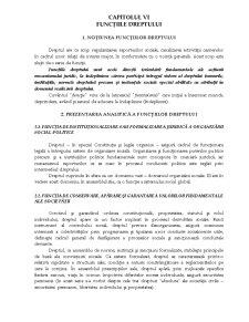 Funcțiile Dreptului - Pagina 1