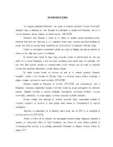 Legaturi Romano-Bizantine in Secolul XIII-XVIII - Pagina 1