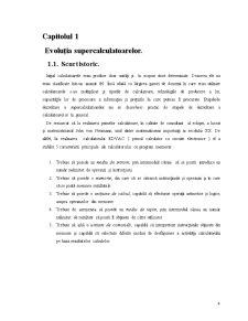 Evoluția Supercalculatoarelor - Pagina 4