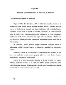 Gestiunea Riscurilor Bancare in Creditarea Intreprinderilor de Comert Exterior - Pagina 5