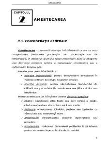 Operații și Echipamente de Proces - Pagina 1