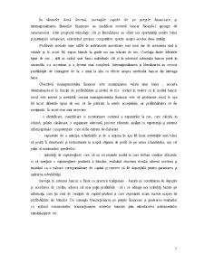 Gestiunea Riscului de Credit în Activitatea Bancară pe Exemplul Unicredit Țiriac Bank Bacau - Pagina 5
