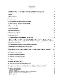 Monografie Banca Tiriac - Pagina 1