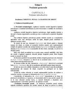 Drept Penal Roman - Note de Curs - Pagina 3