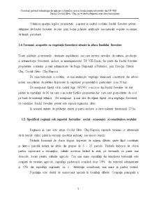 Cercetari Privind Tehnologia de Aplicare a Taierilor Rase in Benzi pentru Arboretele din UP VIII Baciu, Ocolul Silvic Cluj, in Vederea Obtinerii unei Structuri Optime - Pagina 5