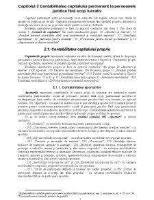 Contabilitatea Capitalului Permanent la Persoanele Juridice fără Scop Lucrativ - Pagina 1
