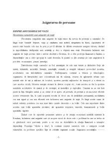 Asigurarea de Persoane - Pagina 1