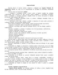 Inspectia Fiscală - Pagina 1