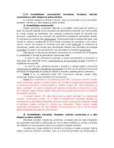 Contabilitatea Concesiunilor, Brevetelor, Licentelor, Marcilor Comerciale si a Altor Drepturi si Active Similare - Pagina 1