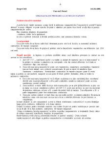 Obligatia de Predare a Lucrului Vandut - Pagina 1