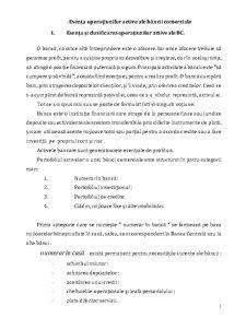 Operatiuni Active ale Bancii - Pagina 1