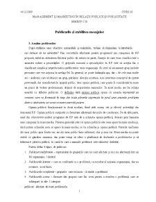Management si Marketing in Relatiile Publice si Publicitate - Pagina 1