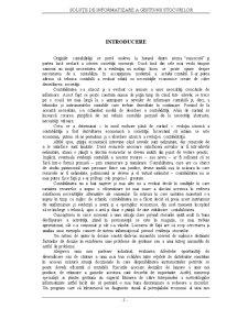 Soluții de Informatizare a Gestiunii Stocurilor - Pagina 4