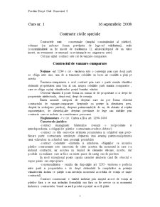 Cursuri Drept Civil - Pagina 1