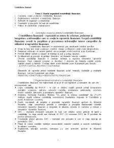 Contabilitatea Financiară - Pagina 1