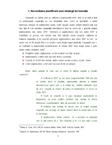 Strategii de Tranzitie - Enterprise Resource Planning - Pagina 4
