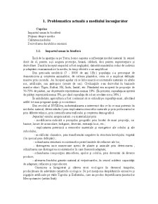 Ecotehnologii I - curs 1 - Pagina 1