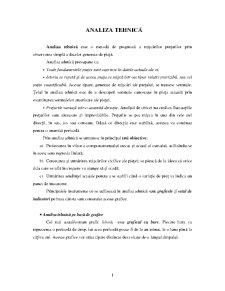 Analiza Tehnică - Pagina 1
