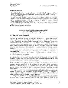 Contabilitate Publică - Pagina 1