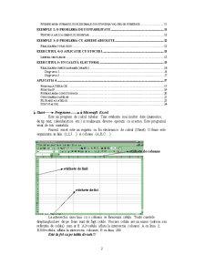 Curs Excel - Pagina 2
