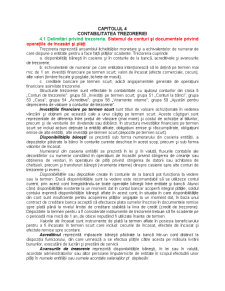 Contabilitatea Trezoreriei - Pagina 1
