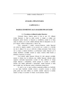 Analiza Eonomico - Financiara - Pagina 5