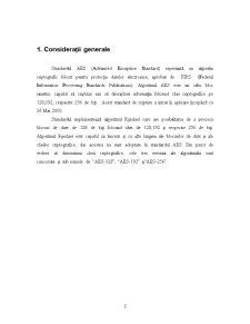 Standardul de Criptare AES - Pagina 3