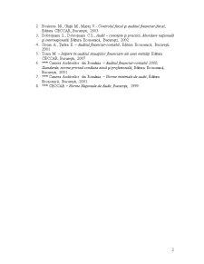 Abordarea Auditului - Pagina 2