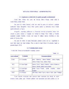 Situatia Teritorial – Administrativa - Ocolul Silvic Nehoiu - Pagina 5