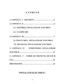 Instalatii Electrice - Montari, Reparatii, Intretinere - Pagina 2