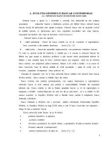 Caracteristica Generala a Sistemului Bancar Actual al Republicii Moldova - Pagina 4