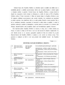 Caracteristica Generala a Sistemului Bancar Actual al Republicii Moldova - Pagina 5