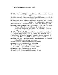 Patrimoniul Societatii Comerciale - Organizarea Fondului de Comert - Pagina 1