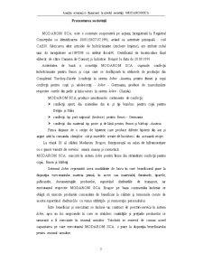 Analiza Economico-Financiara la Nivelul Societatii Modarom SCA - Pagina 3