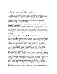 Sistemul Monetar Internațional - Pagina 3