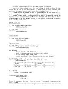 Curs SQL - Pagina 3