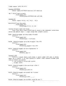 Curs SQL - Pagina 4