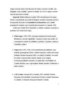 Integrarea Monetar-Europeana - Pagina 4