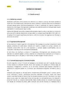 Metode Avansate de Control al Sistemelor Mecanice - Pagina 1