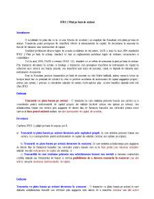 IFRS - 2 Plati pe Baza de Actiuni - Pagina 1