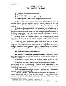 Drept International Public - Teritoriul de Stat - Pagina 1