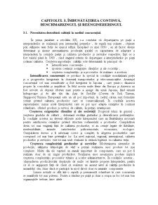 Imbunatatirea Continua, Benchmarkingul si Reenginereringul - Pagina 1