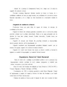 Organizarea Bursei de Valori pe Plan Mondial - Pagina 2