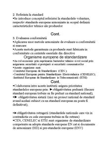 Standardizarea Europeana - Pagina 2