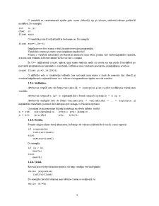 Elemente Fundamentale ale Limbajului C și C++ - Pagina 3