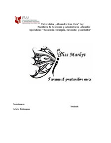 Magazinul Bliss Market - Pagina 1